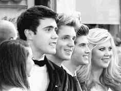 British Youtubers + Joey and Doug(who isn't in the picture)