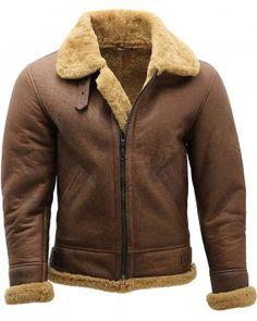 Black Bomber Harrington Pilot Removable Hoodie Real Shearling Leather Jacket B-2