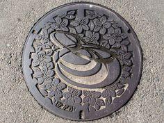 Kagawa town Kagawa pref manhole cover (香川県香川町のマンホール) by MRSY, via Flickr
