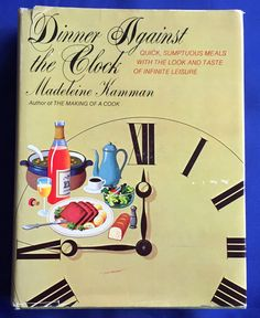 Dinner Against The Clock by Madeleine Kamman by BlueHeavenVintage