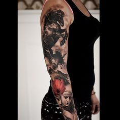 Worked on this sleeve projekt :) all is fresh…