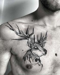 Les tatouages en mode esquisses d'Inez Janiak