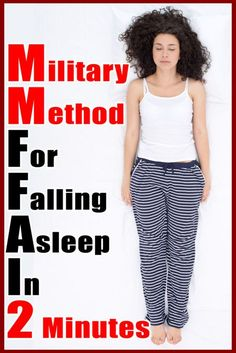 Many people suffer from sleep disorders – some of the terrible paralysis of sleep, some of the sleepwalking, some of. The post Military Method For Falling Asleep In 2 Minutes appeared first on Feminitia. Can Not Sleep, Need Sleep, Insomnia Remedies, Sleep Remedies, Falling Asleep Tips, How To Fall Asleep, Breathing Techniques, Belly Fat Workout, Natural Health Remedies