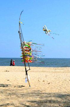 Cha-am Beach : Phetchaburi, Thailand <3