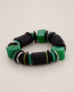 d859d304135f Set de 4 pulseras elásticas mujer con abalorios Mujer 5N Venca ...