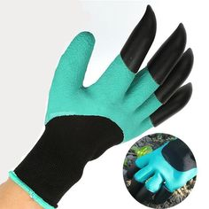 ABS claws gloves supplies garden plant digging protective safety party de GS