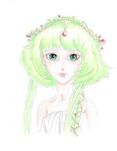 Model by Amadiz studio. (Insta: amadiz_studio) Follow me on instagram (adele_tischler)  ^^ #drawing #doll #greenhair #hair #princess #beauty #cute #kawaii #kohinoor #amadizstudio