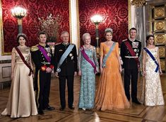 Newmyroyals: Belgian State Visit to Denmark, March 28, 2017-Crown Princess Mary, Crown Prince Frederik, King Philippe, Queen Margrethe, Queen Mathilde, Prince Joachim, Princess Marie