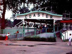 Big Dipper at Chippewa Lake Park, USA. Taken in 1974.