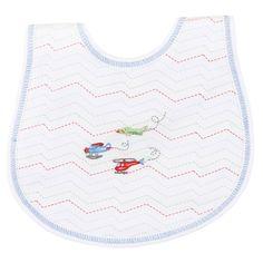 Magnolia Baby Little Pilot Embroidered Bib