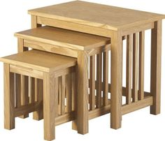 Home Discount Ashton Nest Of Tables Product Information Ash Veneer W.21 x D.13.1/2 x H.18.3/4 W.16 x D.11.1/2 x H.16 W.11.1/4 x D.9.1/2 x H.13 Supplied Flat Pack (Barcode EAN = 5055998401082) http://www.comparestoreprices.co.uk/december-2016-6/home-discount-ashton-nest-of-tables.asp