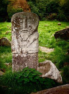 Pukel men / Old face - Boa Island - Ireland by NIreland eye on Flickr