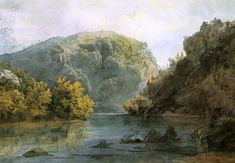 The Delaware Water Gap, by Karl Bodmer