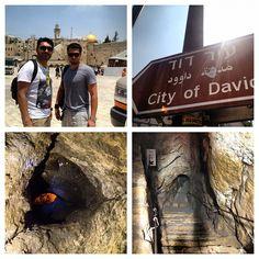 #cityofdavid #westernwall #wall #river #cave #amazing #fun #sachlav #birthright #israel - @aziwazwalking- #webstagram
