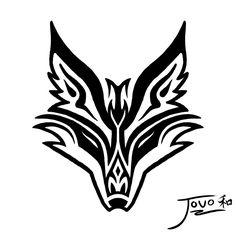 Fox tattoo by jouo