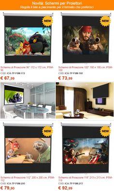 Novità: #Schermi per #Proiettori Regola il telo a piacimento per il formato che preferisci. http://www.nicoshop.com/form/view.php?id=3