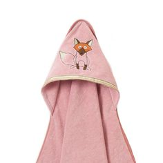 Organic Fox Bath Towel - so cozy for baby! #PNshop