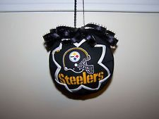 Handmade Pittsburgh Steelers Quilted Christmas Ornament