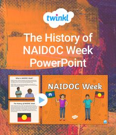 This History of NAIDOC Week PowerPoint presentation teaches your middle or upper primary students about the history of NAIDOC Week. The PowerPoint offers learning objectives, infoboxes and unique illustrations to reinforce the history of NAIDOC Week - a vital event in the Australian calendar. And, it includes examples of the ways in which students can celebrate Aboriginal history through arts and events. Plus, its simple and efficient design makes teaching in the classroom more… What Is Naidoc Week, Aboriginal History, Learning Objectives, Presentation, Students, Middle, Classroom, Events