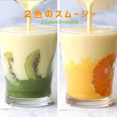 See interesting content from Tasty Japan directly on Timeline. Juice Smoothie, Smoothie Drinks, Breakfast Smoothies, Smoothie Bowl, Healthy Smoothies, Healthy Drinks, Drink Menu, Dessert Drinks, Dessert Recipes