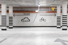 Residential wayfinding system in Cracow on Behance