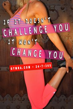 Challenge yourself every time!