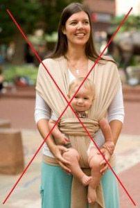 Aide au portage bébé - 10 Raisons de ne pas porter bébé Face au Monde
