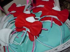 Hello Kitty Party Ears...red & white party scheme