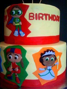 super why cake!