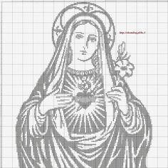 Gallery.ru / Фото #94 - Богородица (схемы) - Olgakam