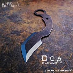 The Bladetricks DOA karambit is a compact EDC karambit offering some unique knife combat advantages.