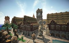 Morkheim - A medieval fantasy port Minecraft Project