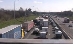 Thursday traffic and travel Storm Doris causes chaos on Thurrock roads - YOURTHUROCK