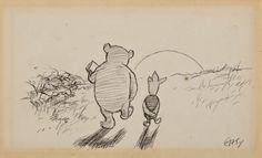 Original Winnie The Pooh Drawings - חיפוש ב-Google