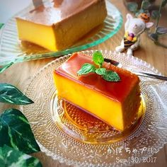 今日のおやつかぼちゃプリン✨ Sweets Recipes, Cake Recipes, Flan, My Favorite Food, Favorite Recipes, Bread Cake, Asian Desserts, Cafe Food, Healthy Sweets