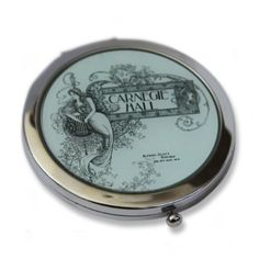Carnegie Hall Compact Mirror (Green) -- Find out more about the great product at the image link.