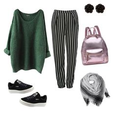 Mood board set due to rainy season♡ by fromhometonyc on Polyvore featuring polyvore fashion style Glamorous Puma Erica Lyons clothing