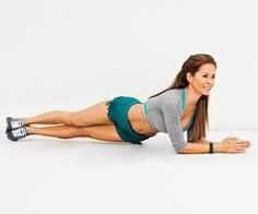 for abs/obliques! It's hard a first, but man you can feel it!! 4 sets of 20