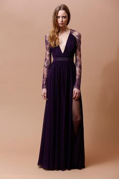 Badgley Mischka   Pre-Fall 2014 Collection   Style.com