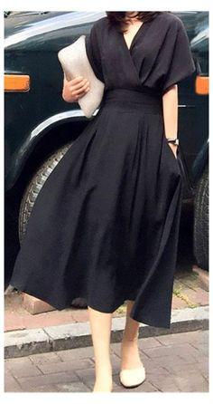 Dress Outfits, Casual Dresses, Fashion Dresses, Classy Dress, Classy Outfits, Chic Dress, Flare Dress, Pretty Dresses, Beautiful Dresses