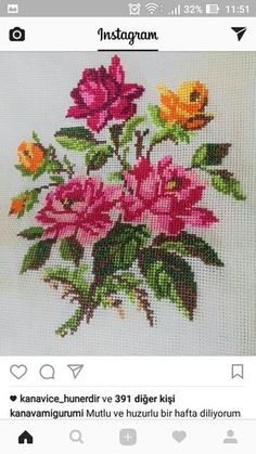 New Embroidery Rose Pattern Design Cross Stitch Ideas Cross Stitch Rose, Cross Stitch Borders, Modern Cross Stitch, Cross Stitch Flowers, Cross Stitch Charts, Cross Stitch Designs, Cross Stitching, Cross Stitch Embroidery, Embroidery Patterns