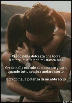 Credo in te, credo in noi. Words Quotes, Love Quotes, My Emotions, Feelings, Quotes About Everything, Richard Gere, Love Phrases, Nicholas Sparks, My Mood