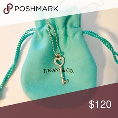 Tiffany & Co. Key Pendant Necklace! Worn yet in terrific condition ! Tiffany & Co. Jewelry Necklaces