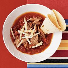 Slow-cooked pork preps in minutes and is ready to made into a taco dinner at the end of a busy day.