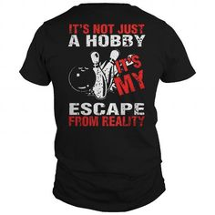 Awesome Tee Escape From Reality Bowling Lmtd Edtn T shirts