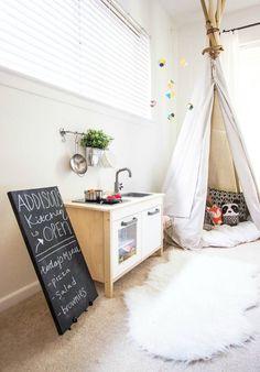 kids rooms, play kitchen for kids, ikea play kitchen, cocinita, cocina de juguete, mini cocina DUKTIG de IKEA