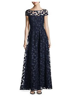 6d56f376259 Product image Navy Floral Dress