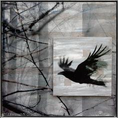 Ravens Sing of Trees : Mixed Media : Ken Girardini