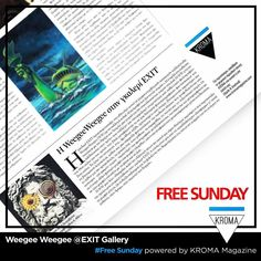 KROMA Magazine added 11 new photos — with Iwanna Vlachaki and 16 others. Weegee, Magazine Art, Sunday, Gallery, Instagram Posts, Free, Domingo