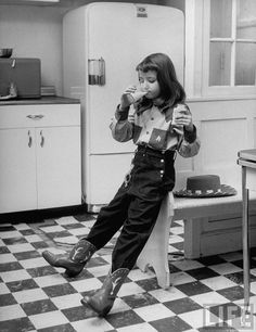 cowgirl in the kitchen- from the Life archives
